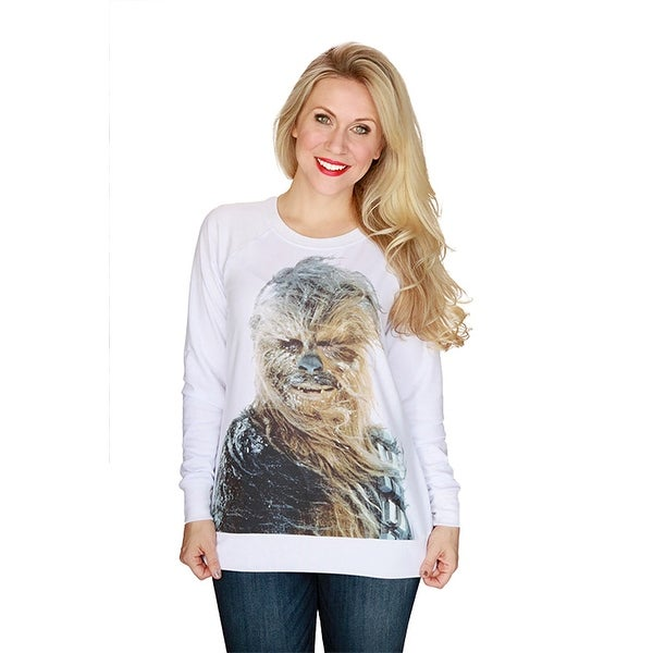 Her Universe Women\'s Star Wars Chewbacca Snow Pullover Plus Size