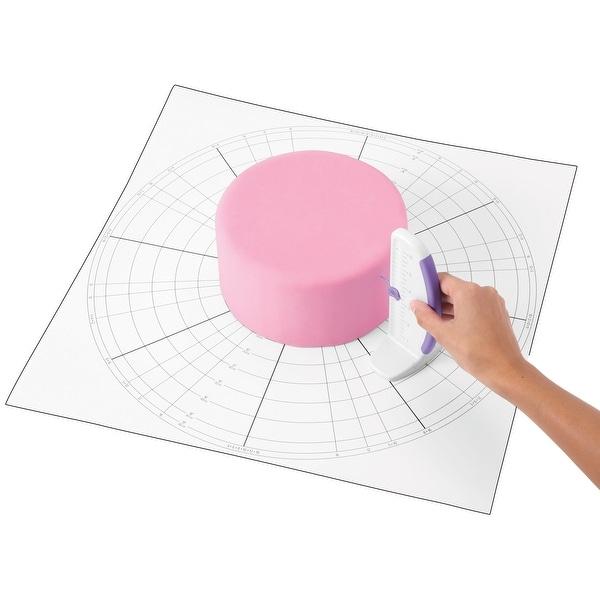 "Cake Dividing Chart-20""X20"""