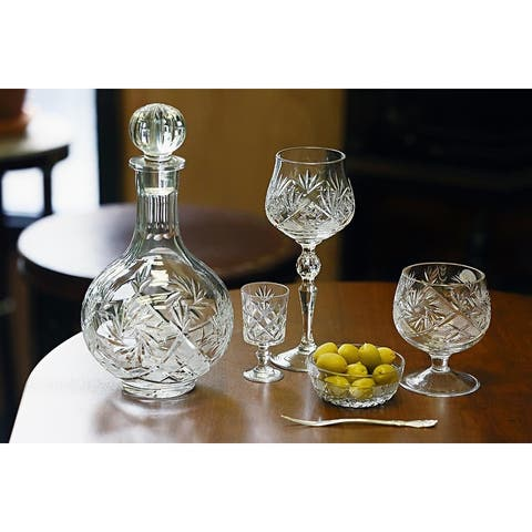 Neman Glassworks High-End Crystal Wine Decanter