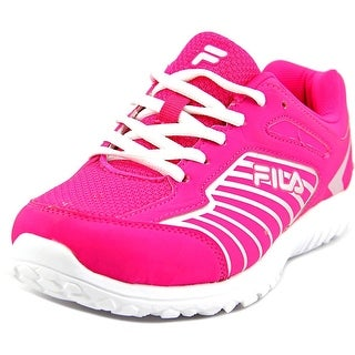 Fila Rocket Fueled Youth Round Toe Synthetic Pink Sneakers