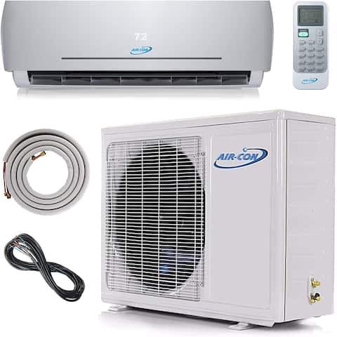 Air-Con Blue Series 3 12000 BTU Ductless Mini Split 230V Air Conditioner