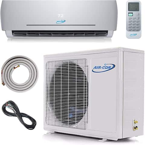 Air-Con Blue Series 3 18000 BTU Ductless Mini Split 230V Air Conditioner