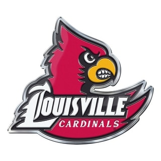Louisville Cardinals Auto Emblem Color Alternate Logo
