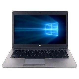 "Refurbished HP EliteBook 840 G1 14"" Laptop Intel Core i5-4300U 1.9G 8G DDR3 500G Win 10 Pro 1 Year Warranty - Silver"