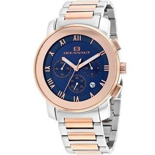 Oceanaut Men's Riviera OC0338 Blue Dial Watch