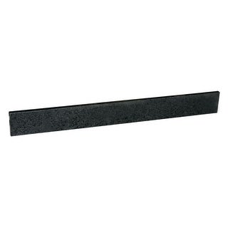 "Design House 563627 22"" W x 4"" H Granite Sidesplash - Black Pearl - N/A"
