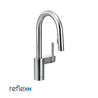 Moen 5965 Single Handle Pullout Spray Bar Faucet with Reflex Technology from the Align Collection