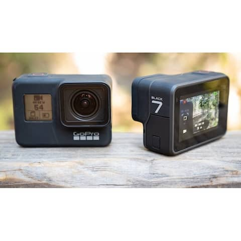 GoPro HERO7 Black Waterproof Digital Action Camera +Touch Screen 4K HD