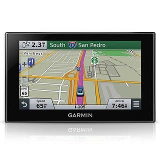 "Garmin Nuvi 2689LMT 6"" Wide Touch Screen GPS Vehicle System w/ Lifetime Traffic Updates 010-01188-02