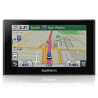 "Garmin Nuvi 2689LMT 6"" Wide Touch Screen GPS Vehicle System w/ Lifetime Traffic Updates 010-01188-02"