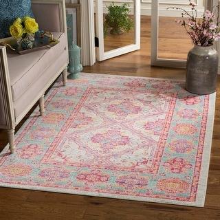 Safavieh Windsor Janita Cotton/ Polyester Distressed Rug