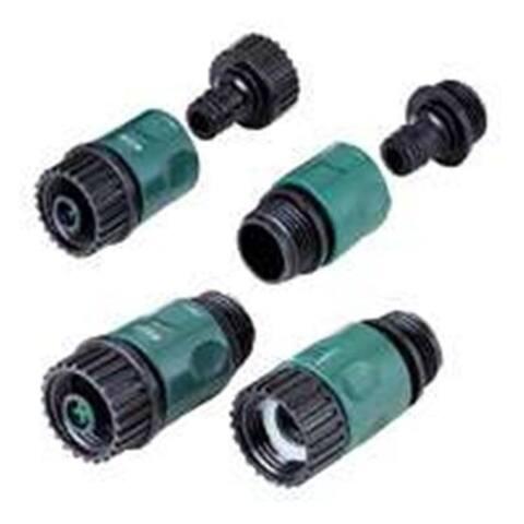 Mintcraft GC520 Plus GC540 Plus GC522 0.75 Hose Connector Set - 4 Piece