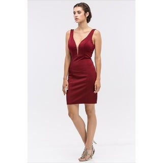 SATIN DRESS TANK W/ SCARF