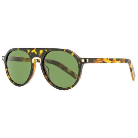Ermenegildo Zegna EZ0123 56N Mens Havana 55 mm Sunglasses