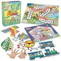 Junior Learning JRL402 6 Number Pattern Games