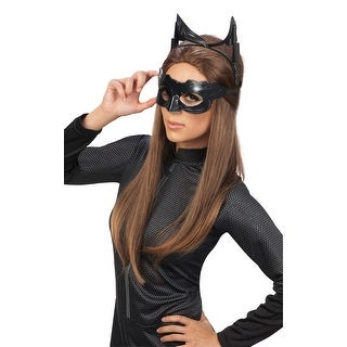 Catwoman Deluxe Goggles & Mask Costume Accessory Kit Adult One Size