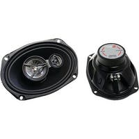 6 x 9 in. 350 Watts Max 3-Way Coaxial Speaker Set