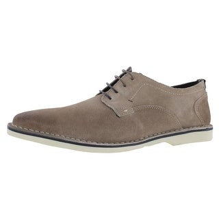 Steve Madden Mens Madrid Oxfords Suede Lace Up