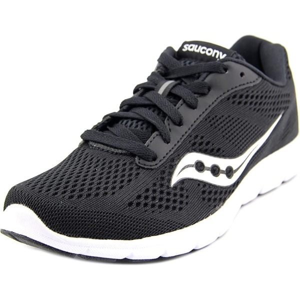 Saucony Grid Ideal Women Round Toe Synthetic Black Walking Shoe
