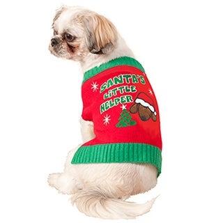 Forum Novelties Santa's Lil Helper Pet Costume (S)