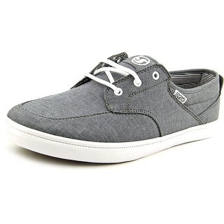DVS Landmark Men Round Toe Canvas Gray Skate Shoe