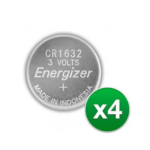 Replacement Battery for Energizer CR1632VP 2Pack (4-Pack) Replacement Battery