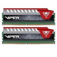 Viper Elite Series Ddr4 16Gb (2 X 8Gb) 2400Mhz Kit (Red) Pve416g240c5krd