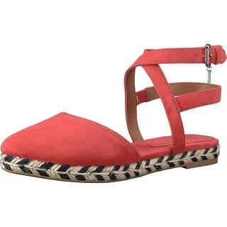 Coach Womens Ozzie Suede Pointed Toe Casual Ankle Strap Sandals (3 options available)