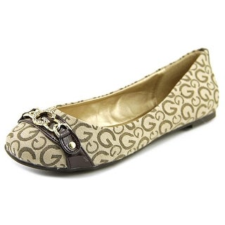 G By Guess Flynn 2 Round Toe Canvas Flats