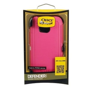 Otterbox Defender Case for HTC One M8 - Neon Rose