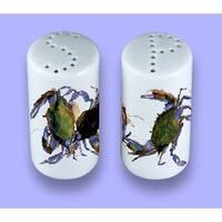 Carolines Treasures 8611SP Crab Ceramic Salt Pepper Shakers