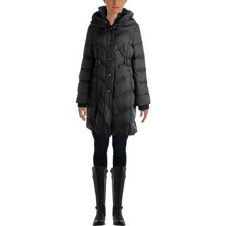 DKNY Womens Down Quilted Parka