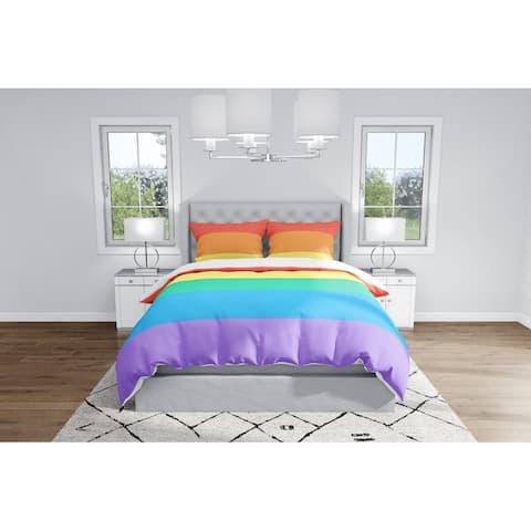 LGBT FLAG Duvet Cover By Kavka Designs