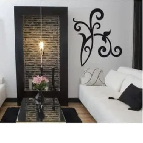 Floral Decor Wall Decal