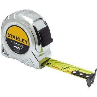 Stanley STHT30159WMT Tape Measure, Chrome, 25'
