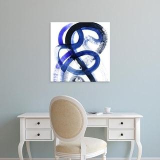 Easy Art Prints Grace Popp's 'Blue Kinesis VI' Premium Canvas Art