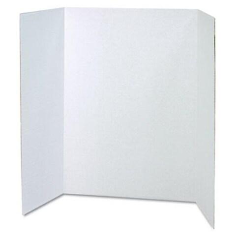 Spotlight Corrugated Presentation Display Boards 48 x 36 White