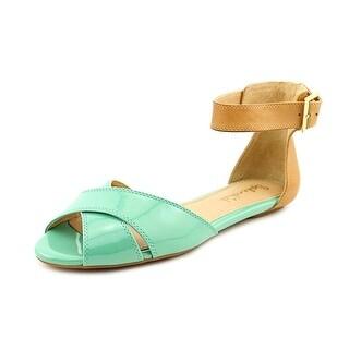 Splendid Atlanta Open Toe Patent Leather Gladiator Sandal