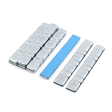 2.1oz Adhesive Back Wheel Balance Weights Strips for Motorcycle 124 x 18mm 10pcs