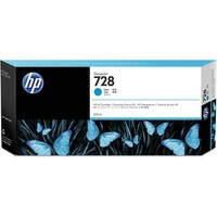HP 728 Cyan DesignJet Ink Cartridge (F9K17A)(Single Pack)