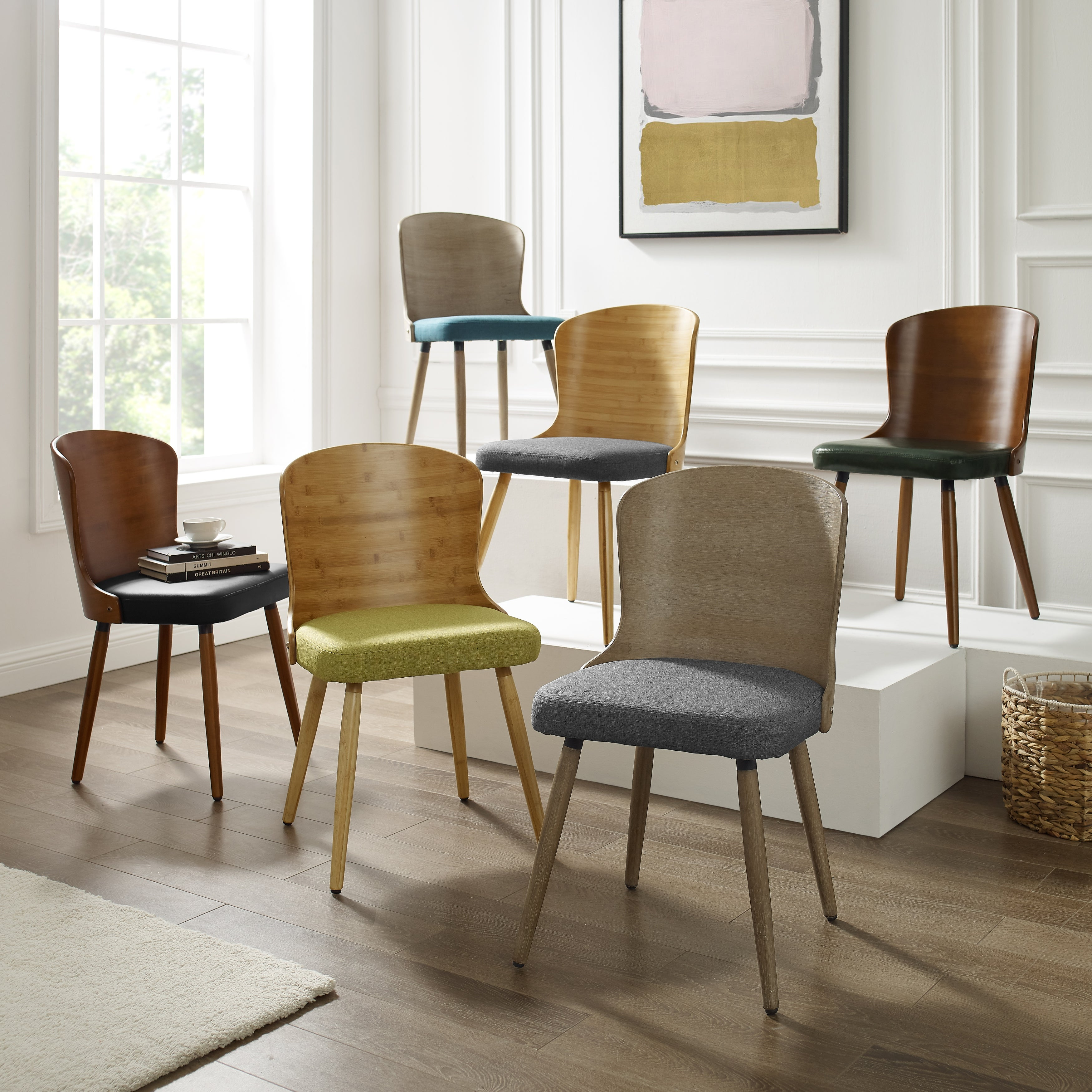 Picture of: Corvus Calvados Mid Century Modern Dining Chairs Set Of 2 For Sale Online