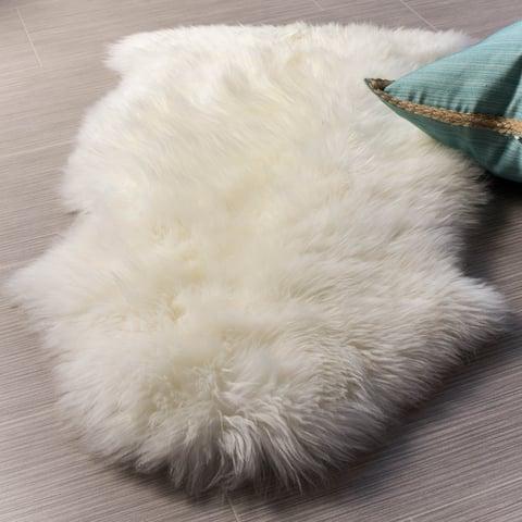 Silver Orchid Nansen Genuine Soft Australian Sheepskin Rug