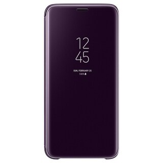 Samsung Galaxy S9 S-View Flip Cover with Kickstand