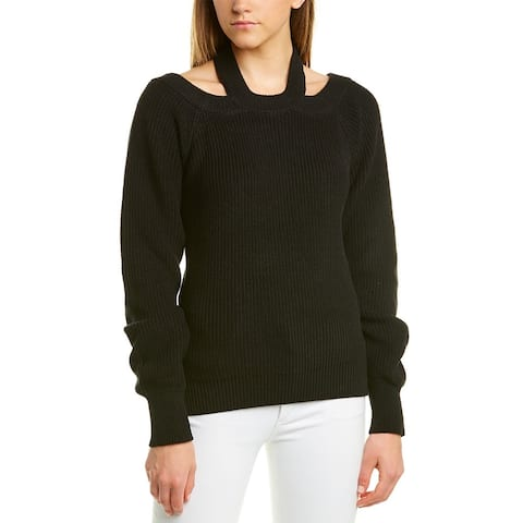 525 America Cold Shoulder Sweater