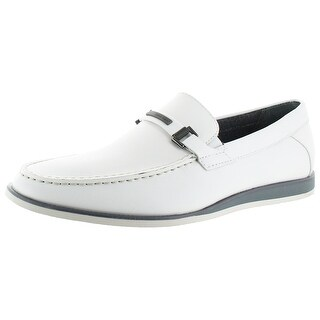 Calvin Klein Men's Kiley Leather Embosses Loafer Shoes