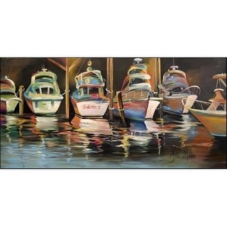 Carolines Treasures JMK1325HRM2858 Deep Sea Fishing Boats Sea Chase Indoor & Outdoor Runner Mat 28 x 58 in.