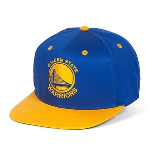 Golden State Warriors Royal/Gold Two-Tone Adjustable Snapback