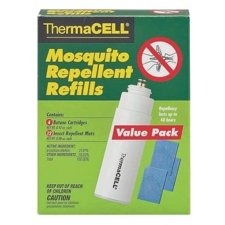 Thermacell R4 Mosquito Repellent Refill Kit