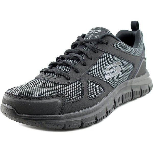 Skechers Track-Bucolo Men Round Toe Synthetic Walking Shoe