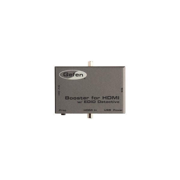"""""""Gefen EXT-HDBOOST-141 Gefen Booster for HDMI with EDID Detective - 300 MHz to 300 MHz - HDMI In - HDMI Out - USB"""""""
